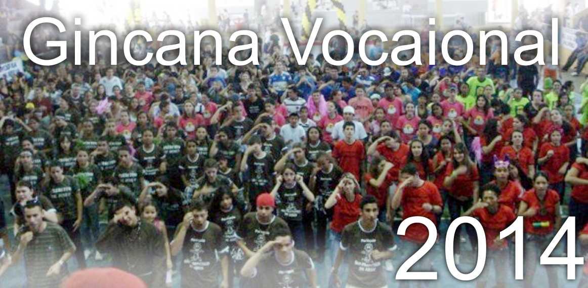 Gincana Vocacional 2014